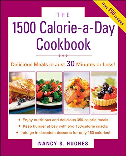 9780071543859: The 1500-Calorie-a-Day Cookbook (Dieting)