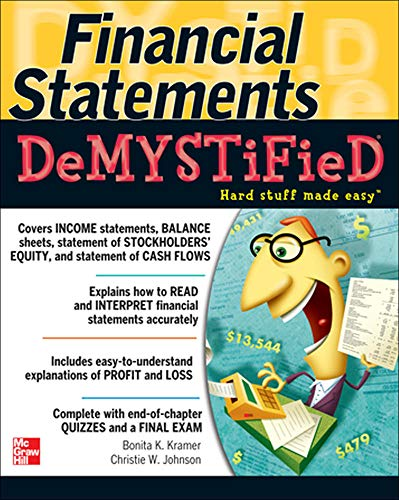 9780071543873: Financial Statements Demystified: A Self-Teaching Guide (General Finance & Investing)