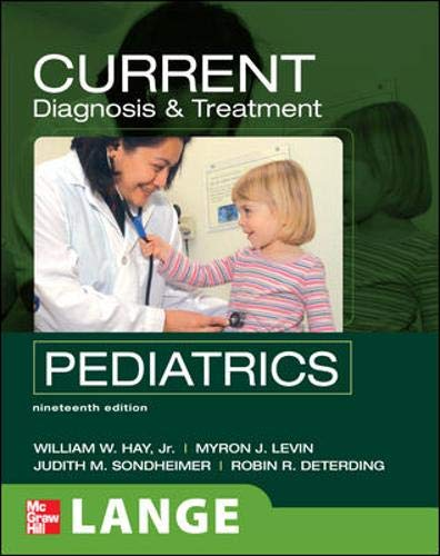 9780071544337: CURRENT Diagnosis and Treatment Pediatrics, Nineteenth Edition