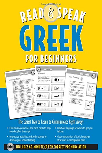 9780071544436: Read ; Speak Greek for Beginners (Book w/Audio CD): The Easiest Way to Communicate Right Away!