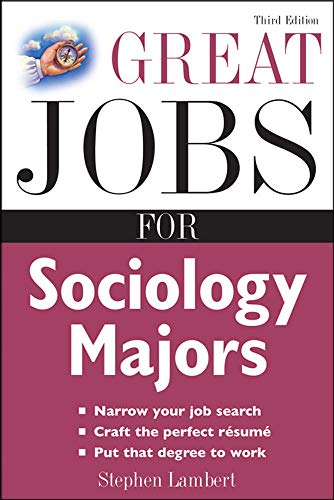 9780071544825: Great Jobs for Sociology Majors (Great Jobs for ... Majors (Paperback))