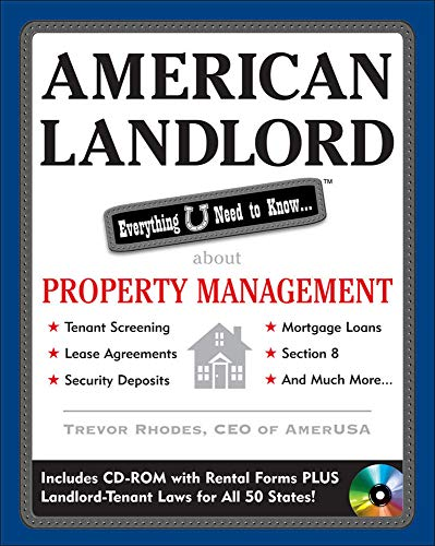 9780071545174: American Landlord: Everything You Need to Know about Property Management [With CDROM]