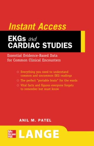 9780071545235: LANGE Instant Access EKGs and Cardiac Studies