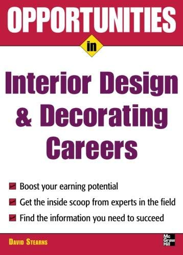 9780071545327: Opportunities in Design and Decorating Careers