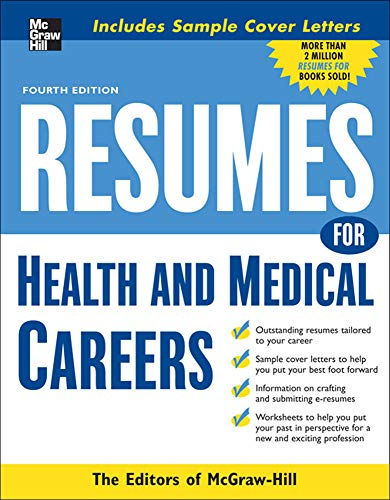 9780071545358: Resumes for Health and Medical Careers (McGraw-Hill Professional Resumes)