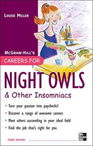 9780071545402: Careers for Nightowls and Insomniacs, 3rd Ed. (Careers for You Series)
