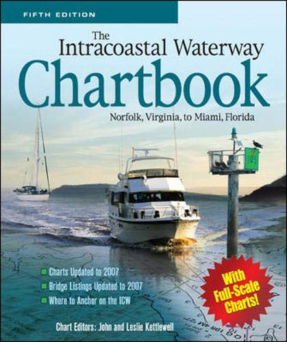 9780071545792: The Intracoastal Waterway Chartbook, Norfolk, Virginia, to Miami, Florida