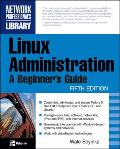 9780071545884: Linux Administration: A Beginner's Guide, Fifth Edition
