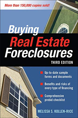 9780071546614: BUYING REAL ESTATE FORECLOSURES 3/E