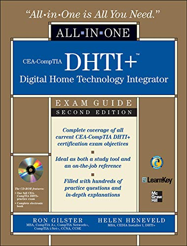 9780071546652: CEA-CompTIA DHTI+ Digital Home Technology Integrator All-In-One Exam Guide, Second Edition