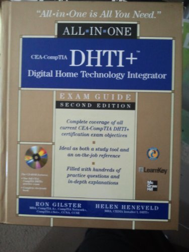 9780071546799: All in One Cea-comptia Dhti+ Digital Home Technologyintegrator with Cd-rom