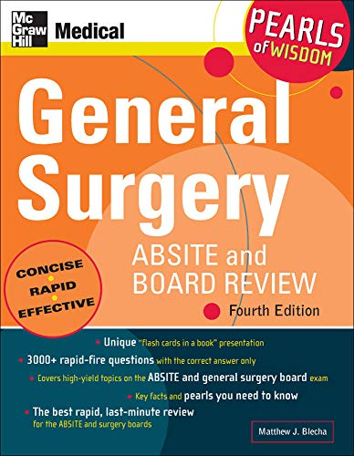 9780071546874: General Surgery ABSITE and Board Review: Pearls of Wisdom, Fourth Edition