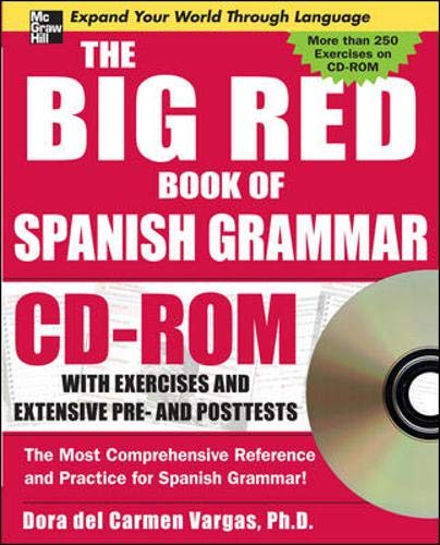 9780071547581: The Big Red Book of Spanish Grammar w/CD-ROM
