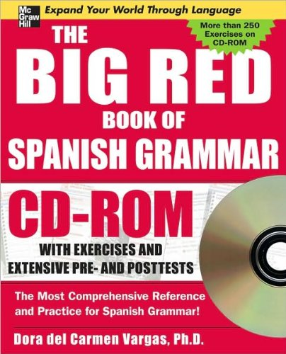 9780071547598: The Big Red Book of Spanish Grammar (Spanish Edition)