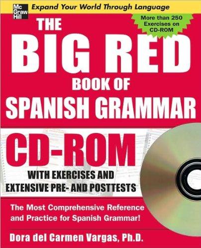 9780071547598: The Big Red Book of Spanish Grammar (Spanish Edition)