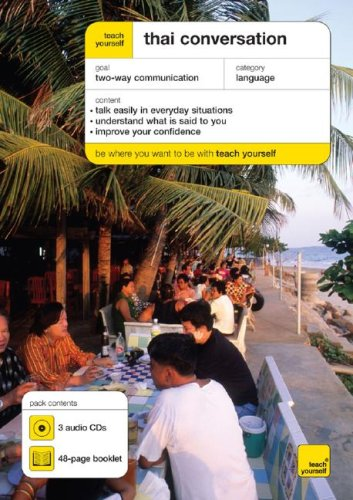 9780071547895: Teach Yourself Thai Conversation (3CD's + Guide) (TY: Conversation)
