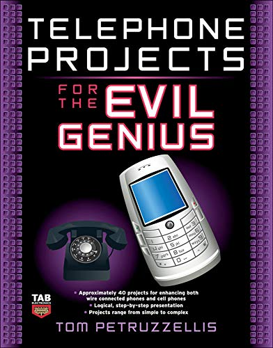 9780071548441: Telephone Projects for the Evil Genius