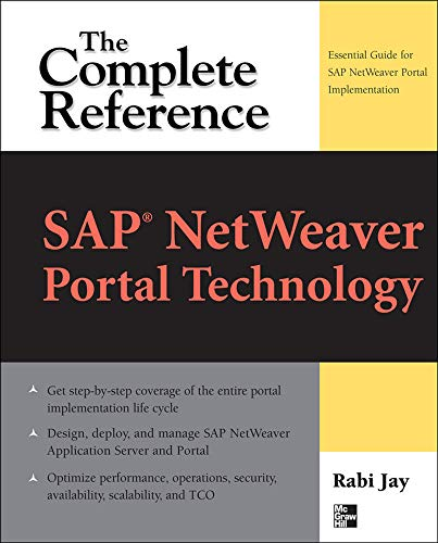 9780071548533: SAP® NetWeaver Portal Technology: The Complete Reference