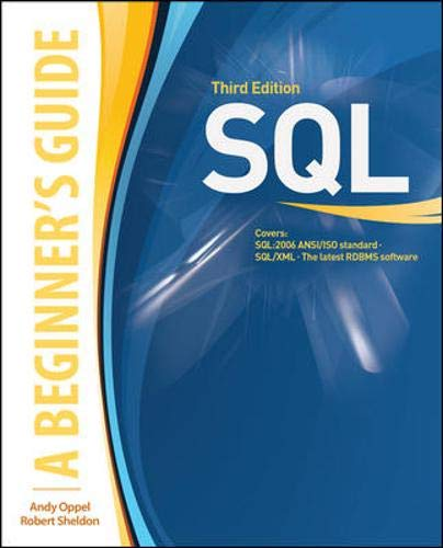 9780071548649: SQL: A Beginner's Guide, Third Edition (Beginner's Guides (McGraw-Hill))