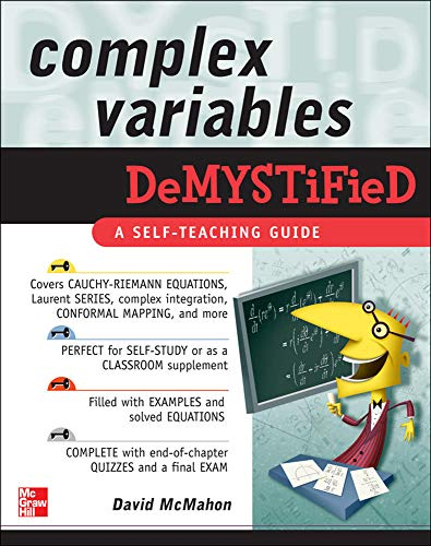 9780071549202: Complex Variables Demystified