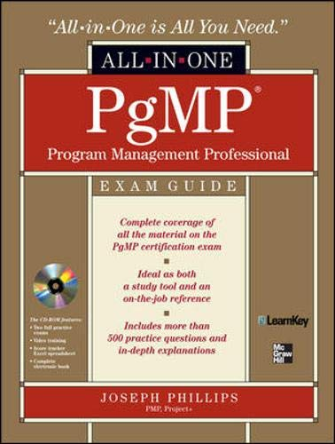9780071549271: PgMP Program Management Professional All-in-One Exam Guide