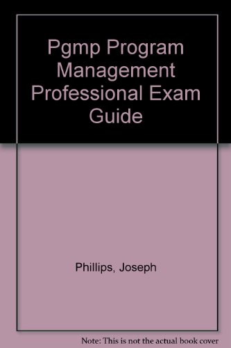 9780071549295: Title: Pgmp Program Management Professional Exam Guide