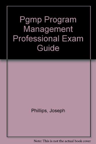 9780071549295: Pgmp Program Management Professional Exam Guide