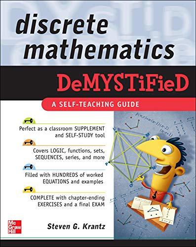 9780071549486: Discrete Mathematics DeMYSTiFied