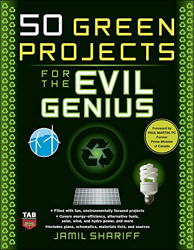 9780071549592: 50 Green Projects for the Evil Genius