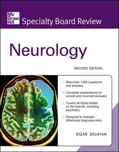 9780071549653: McGraw-Hill Specialty Board Review Neurology, Second Edition
