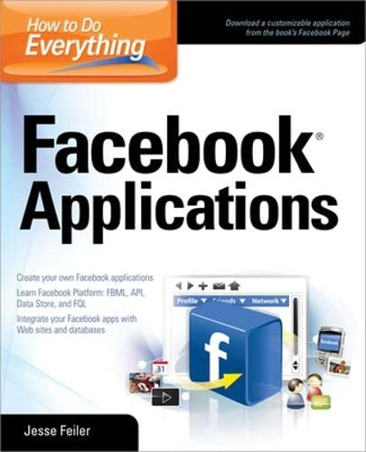 9780071549677: How to Do Everything: Facebook Applications
