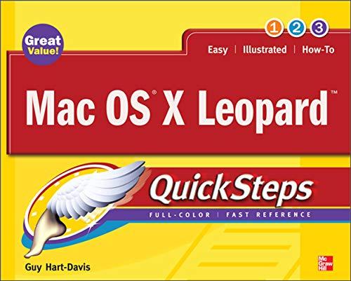 9780071549783: Mac OS X Leopard (QuickSteps)