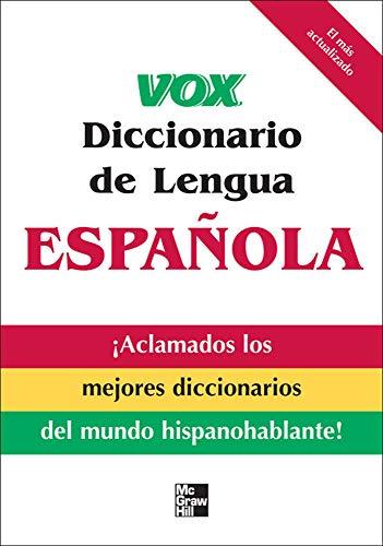 9780071549837: Vox Diccionario de Lengua Española (VOX Dictionary Series)
