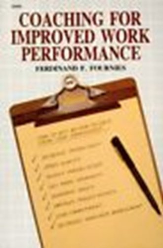 9780071560320: Coaching for Improved Work Performance