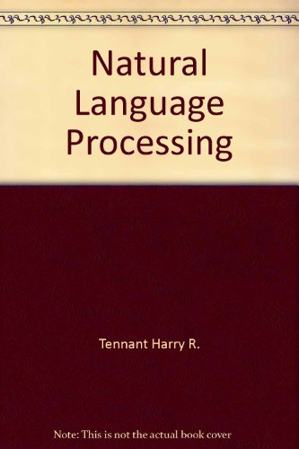 9780071573412: Natural Language Processing