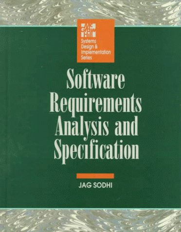 9780071578790: Software Requirements Anal Specif (McGraw-Hill Systems Design & Implementation Series)
