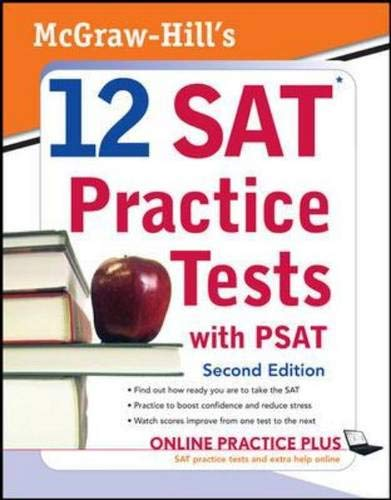 9780071583176: McGraw-Hill's 12 SAT Practice Tests with PSAT, 2ed (McGraw-Hill's 12 Practice Sats & PSAT)