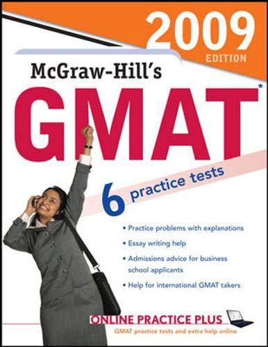 9780071583329: McGraw-Hill's GMAT, 2009 Edition