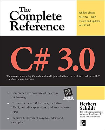 9780071588416: C# 3.0 THE COMPLETE REFERENCE 3/E