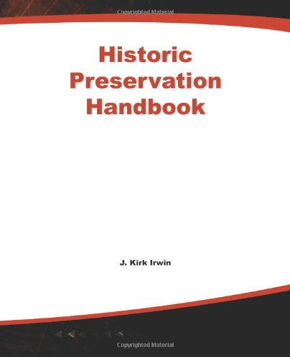 9780071589871: Historic Preservation Handbook