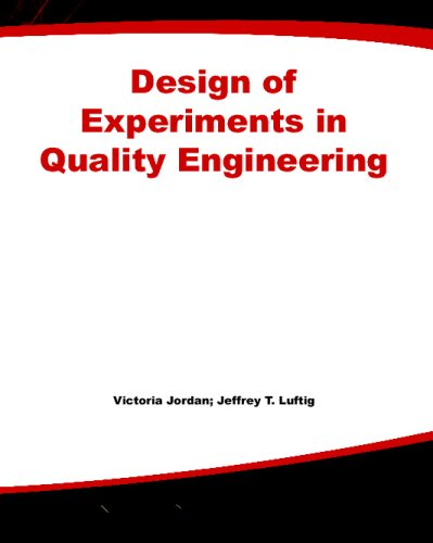 9780071590235: Design of Experiments in Quality Engineering