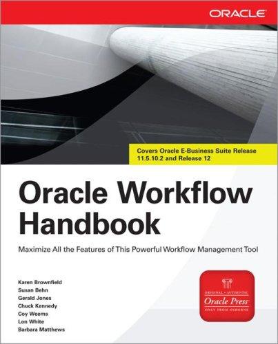 9780071590969: Oracle Workflow Handbook