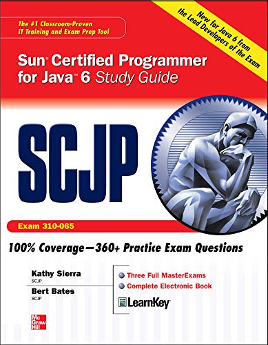 9780071591065: SCJP Sun Certified Programmer for Java 6 Study Guide (CX-310-065): Exam 310-065