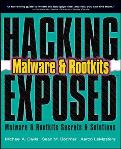9780071591188: Hacking Exposed: Malware & Rootkits Secrets & Solutions