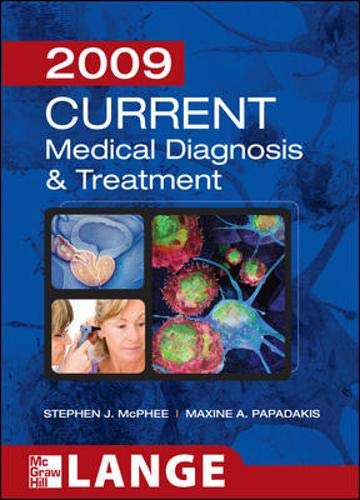 9780071591249: CURRENT Medical Diagnosis and Treatment 2009 (LANGE CURRENT Series)