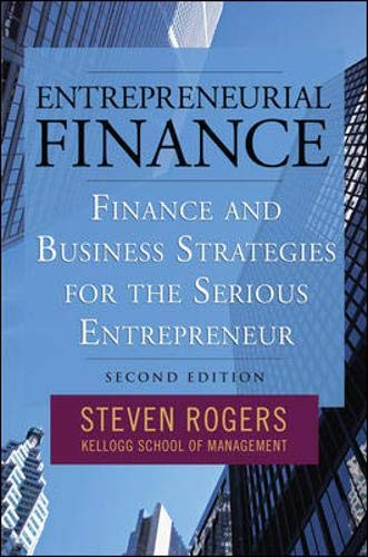 9780071591263: Entrepreneurial Finance: Finance and Business Strategies for the Serious Entrepreneur