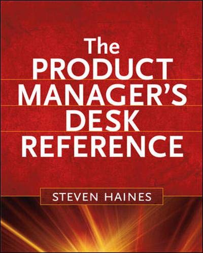 9780071591348: The Product Manager's Desk Reference
