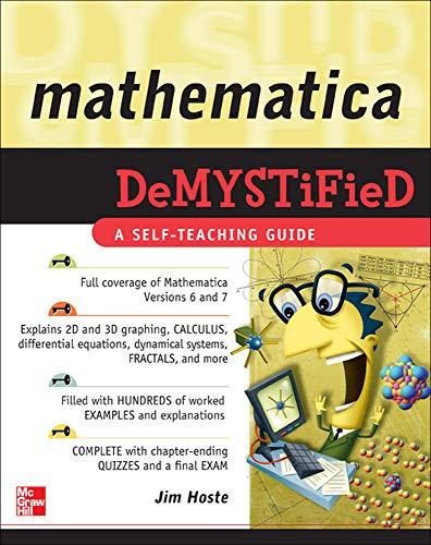 9780071591447: Mathematica DeMYSTiFied
