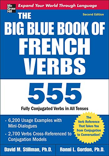 9780071591485: The Big Blue Book of French Verbs, Second Edition