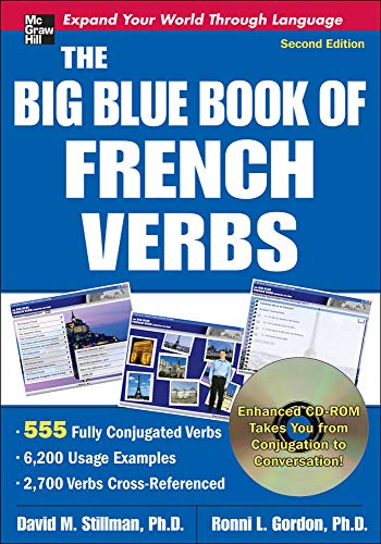 9780071591508: The Big Blue Book of French Verbs with CD-ROM, Second Edition
